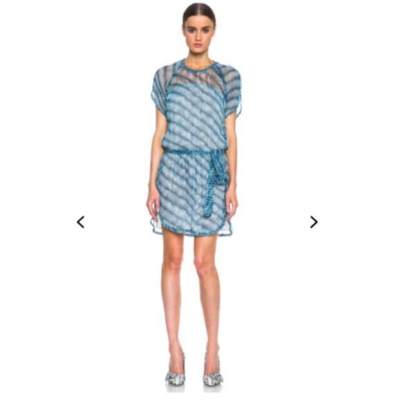 ad691b45987 Isabel Marant Etoile Zaggy Silk Dress